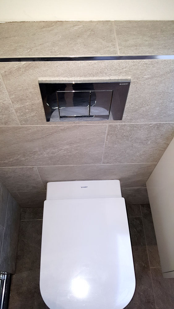 'Gerberit' back to wall pan and flush plate, Cameron Toll.