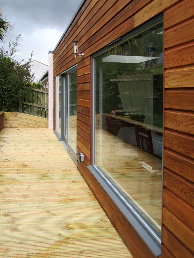 Cedar extension in Buckstone, Scotland.