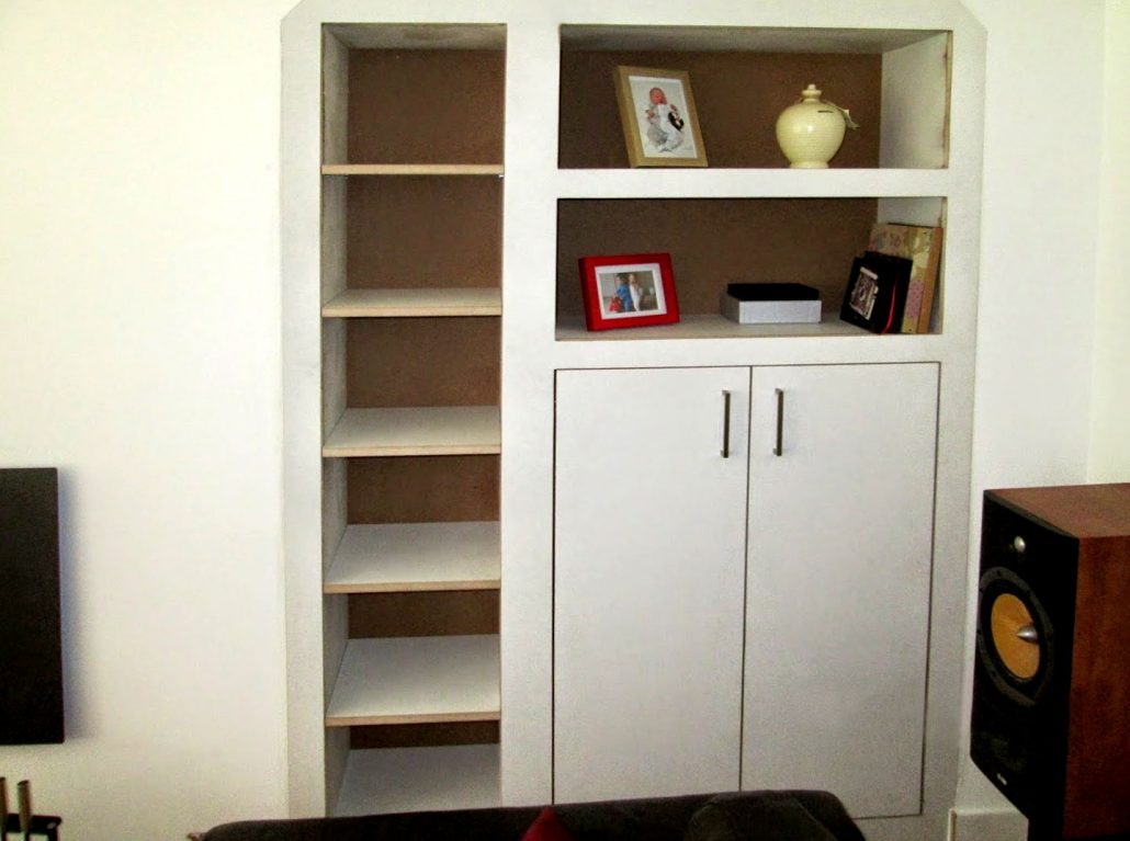 Made-to-measure cupboard installed in Cammo.