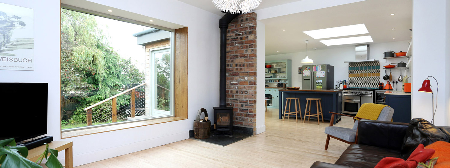Home extensions & conversions by Cramond Renovations, Edinburgh.