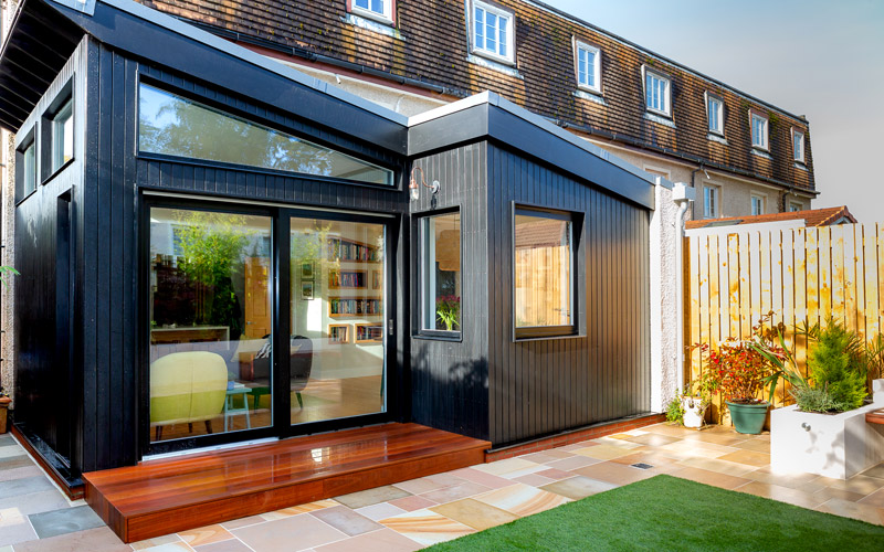 Home extension services including loft, basement & garage conversions.